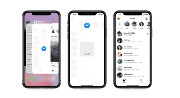 Блокировка приложений для Facebook Messenger