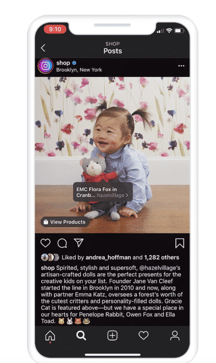 Обновление магазина в Facebook и Instagram