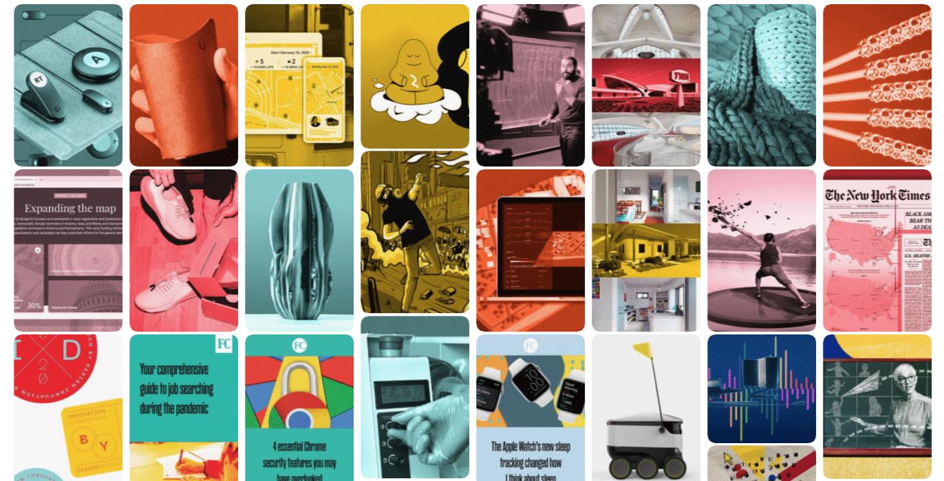 FastCompany дает всем изображениям аналогичную стилизованную цветовую обработку