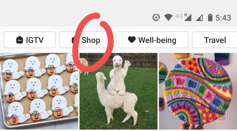 Настройте Instagram Shop с бизнес-профилем