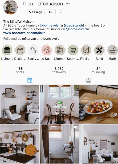 @themindfulmaison эстетика Instagram