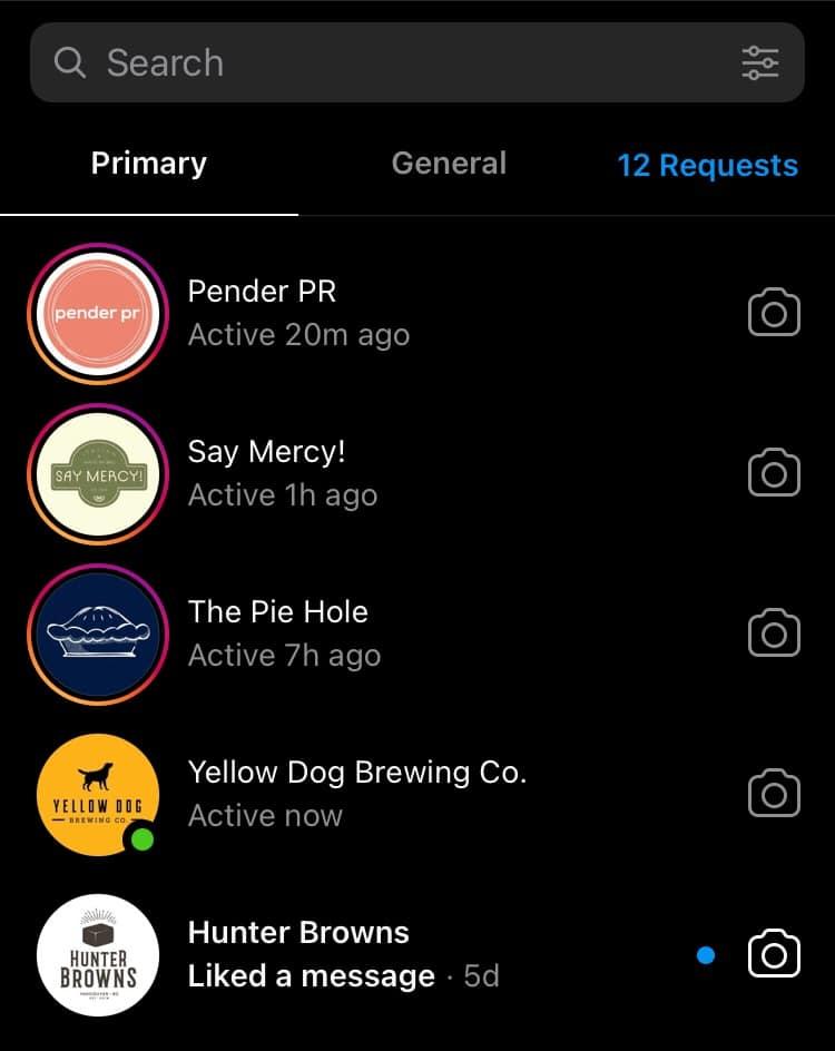 Управляйте личными сообщениями в Instagram с помощью бизнес-аккаунта