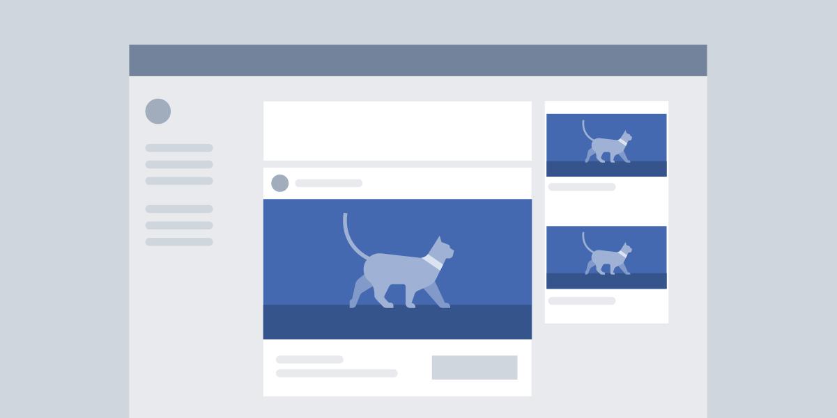Размеры изображений Facebook для рекламы