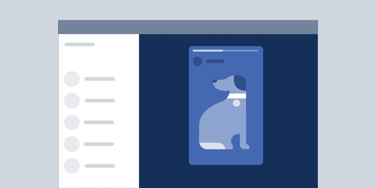 Размеры изображений Facebook для историй Facebook