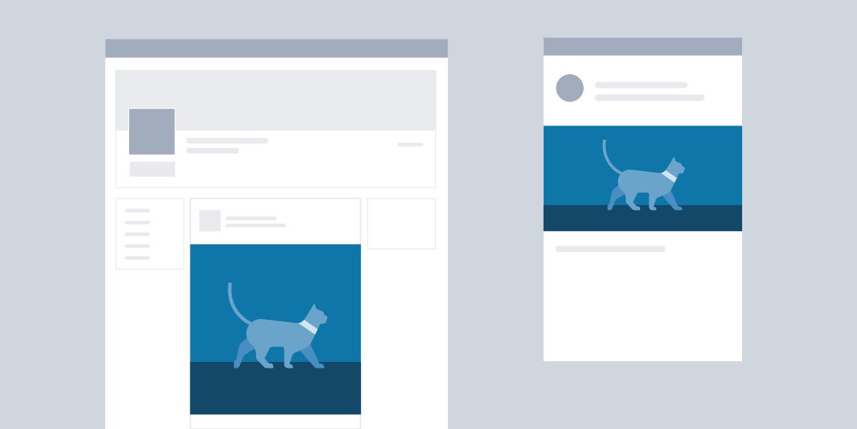 Пользовательский размер изображения LinkedIn для обмена ссылкой в обновлении
