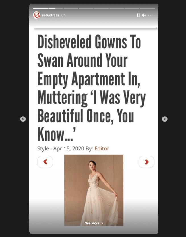 Сатирический новостной сайт Reductress публикует заголовки в сообщениях и рассказах