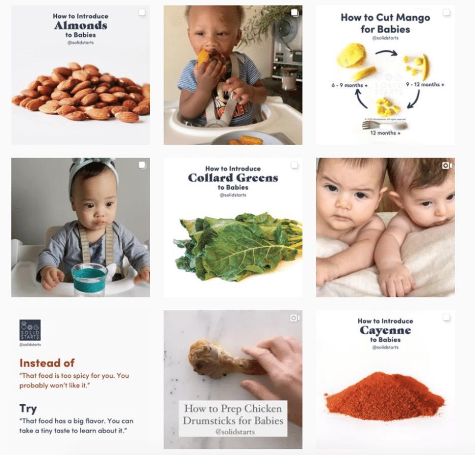 Solid Starts babies and графические инструкции