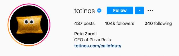 Персонаж пиццы Тотинос