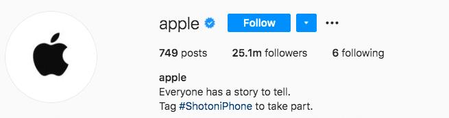 яблочный бренд, у каждого есть что рассказать