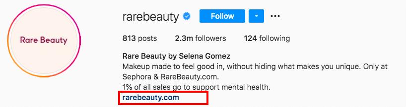 URL Rare Beauty