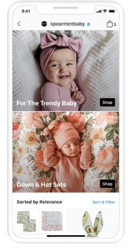 Магазин Spearmint Baby в Instagram