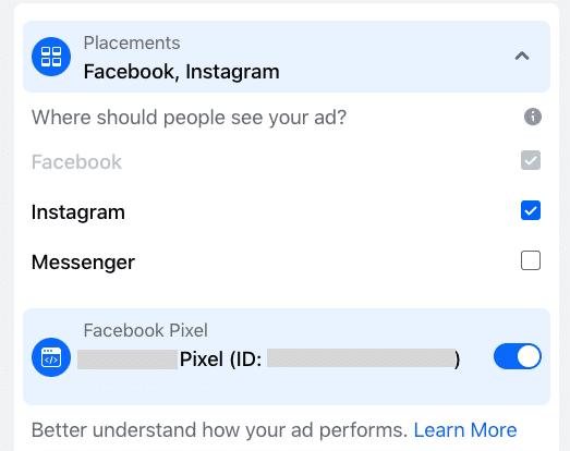 размещение рекламы на facebook или instagram