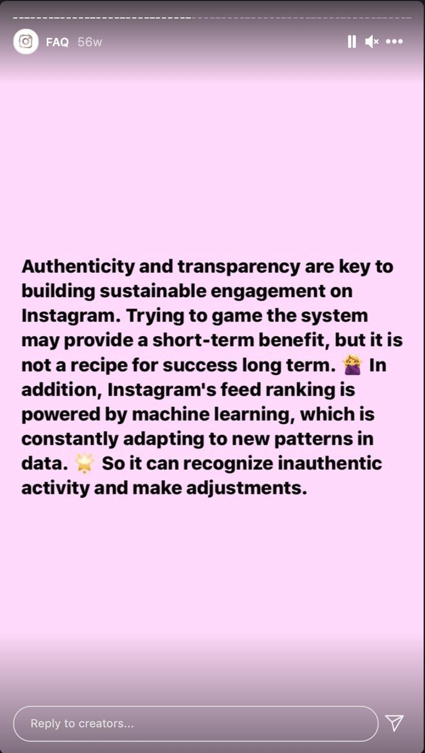 Вопросы и ответы создателей Instagram о недостоверном контенте