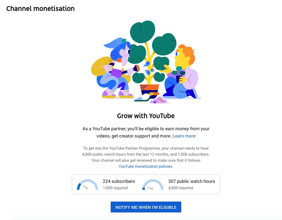 монетизация канала Партнерская программа YouTube
