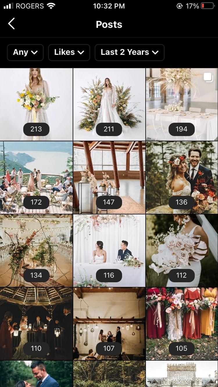 свадебный журнал самые комментируемые фотографии