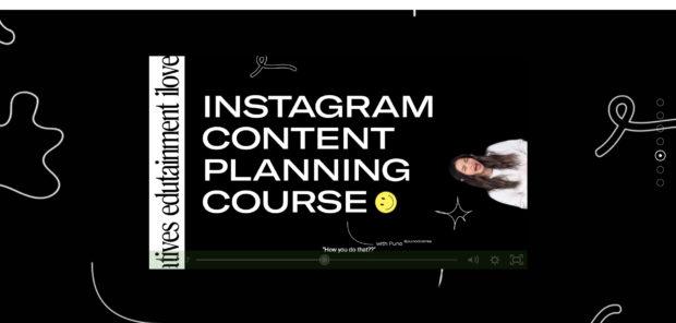 Планирование контента Instagram от ilovecreatives