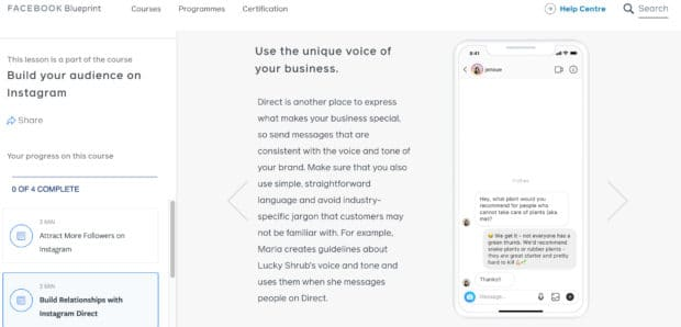Привлечь больше подписчиков в Instagram с помощью Facebook Blueprint