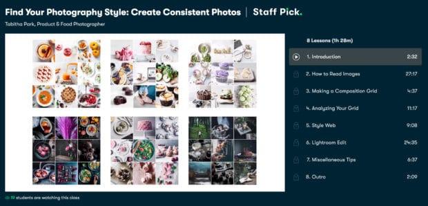 Найдите свой стиль фотографии с помощью Skillshare