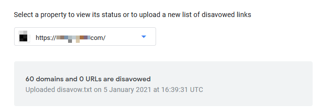 Пример загрузки файла отклонения.