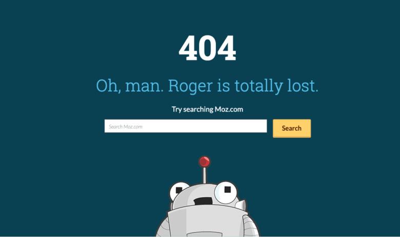 Страница 404 Moz.