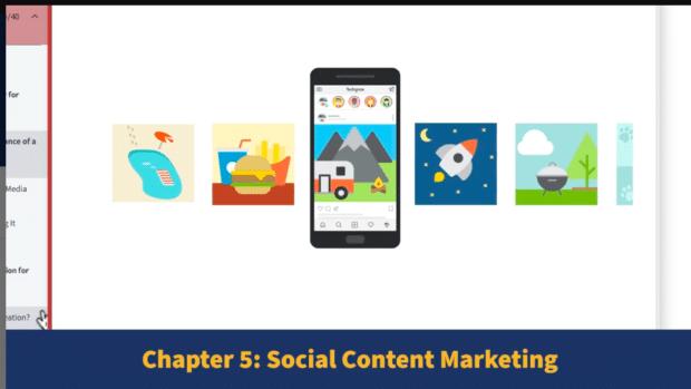 Предварительный просмотр курса Hootsuite по маркетингу в социальных сетях