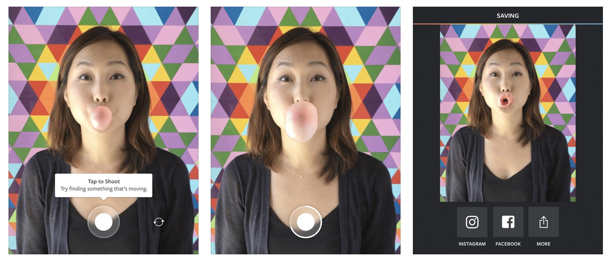 Видео-приложение Boomerang