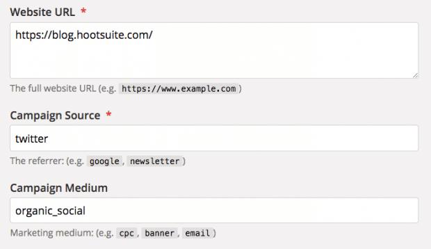 Конструктор URL кампании Google Analytics