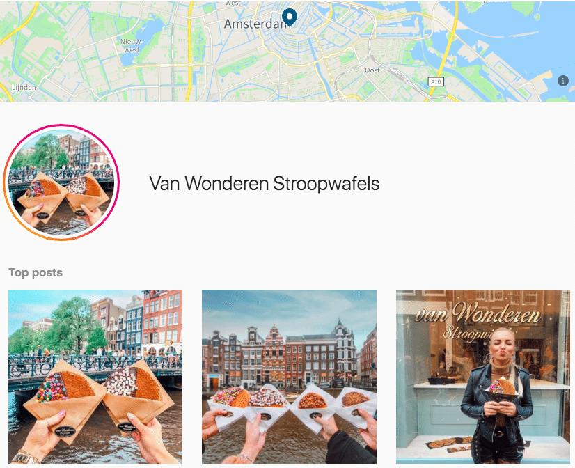Страница тега местоположения Амстердама в Instagram с лучшими сообщениями