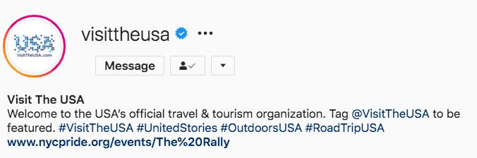 Подписчики в Instagram заходят в тег в США