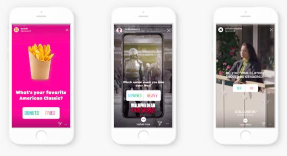 привлекайте больше подписчиков в Instagram с помощью интерактивных функций, таких как опросы