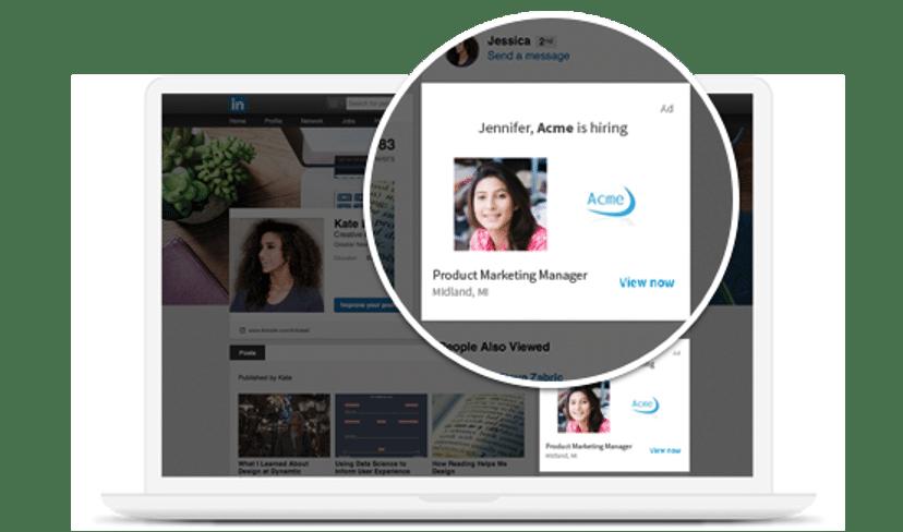 Объявления о работе в LinkedIn Acme найма