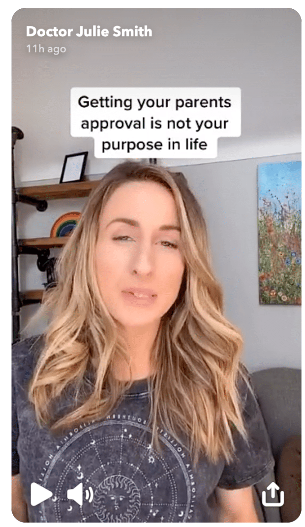 Доктор Джули Смит Snapchat