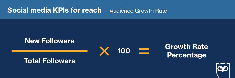 уравнение скорости роста аудитории