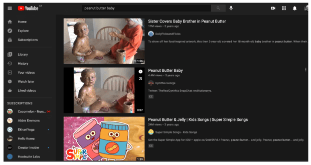 Алгоритм поиска на YouTube