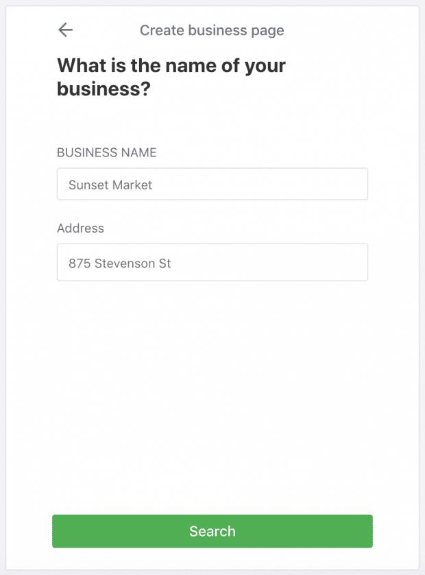 Как создать бизнес-профиль Nextdoor: добавив название вашей компании