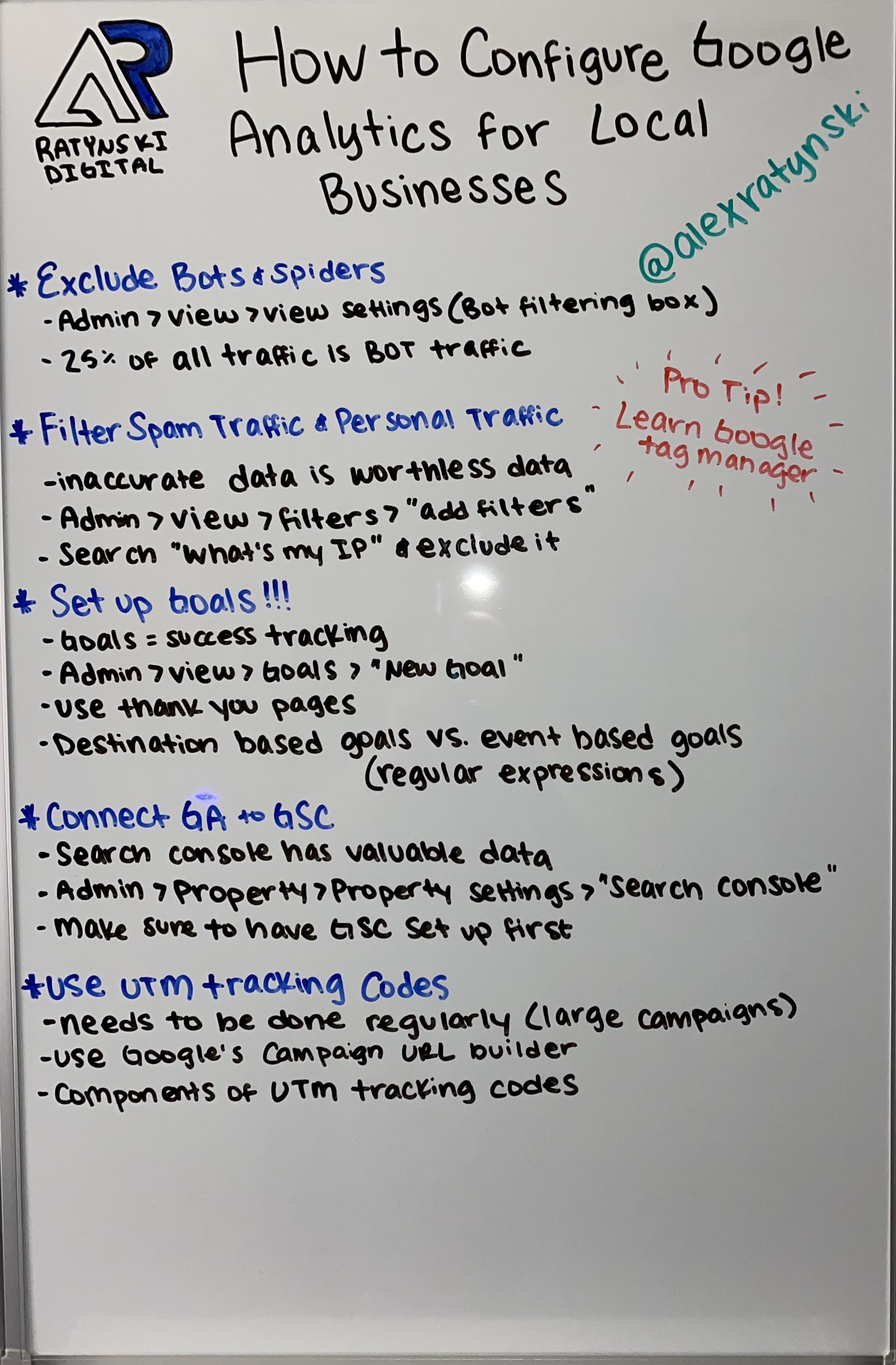 Фотография доски с рукописными заметками о том, как технические специалисты по поисковой оптимизации могут сосредоточиться на доступности.