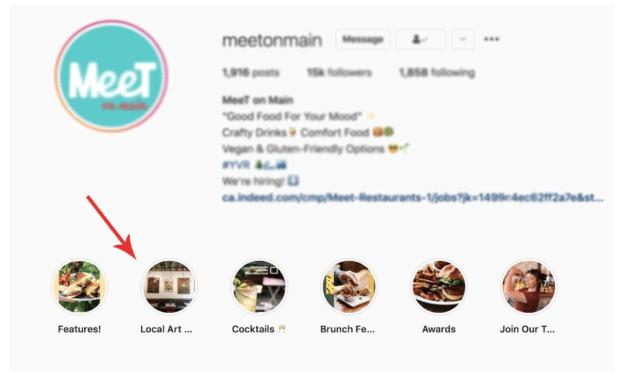 Основные моменты Instagram