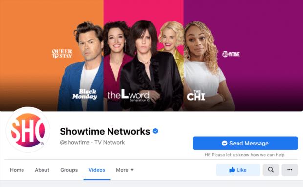 Подтвержденный аккаунт Showtime Networks