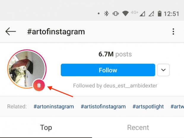 Хэштег Instagram