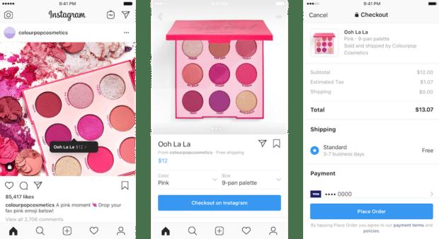 Color Pop Cosmetics Макияж в магазине Instagram