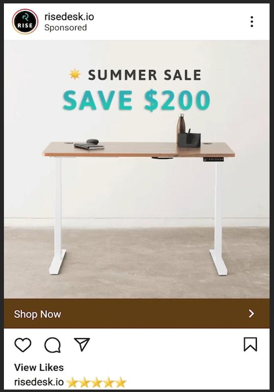 Летняя распродажа Risedesk.io Сэкономьте $ 200