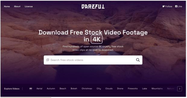 Dareful скачать бесплатно стоковые видеоролики в 4K