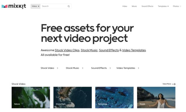Бесплатные ресурсы Mixkit для вашего следующего видеопроекта
