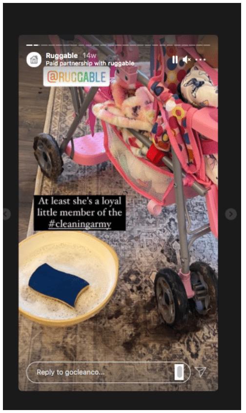 Прочная армия для чистки детских колясок